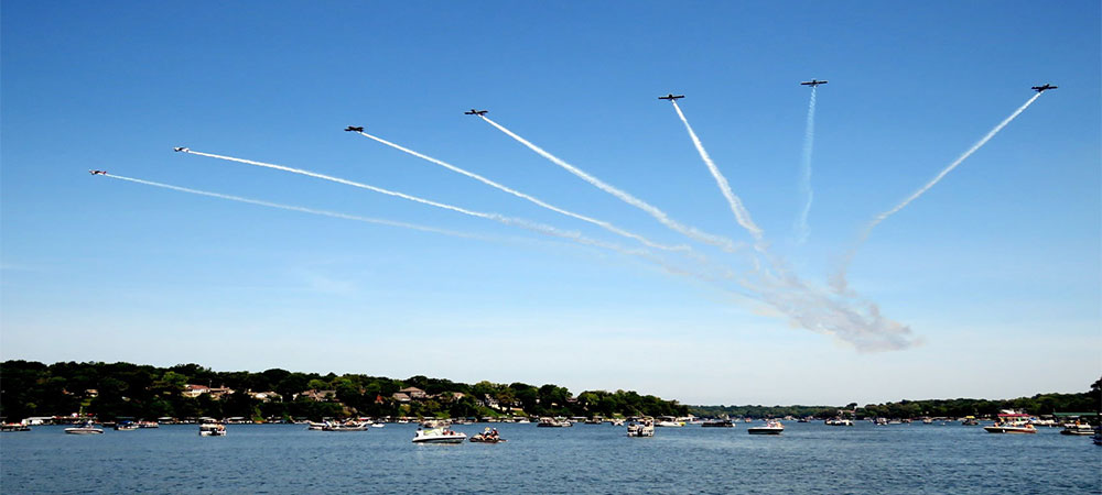 Lake Lotawana Day Air Show